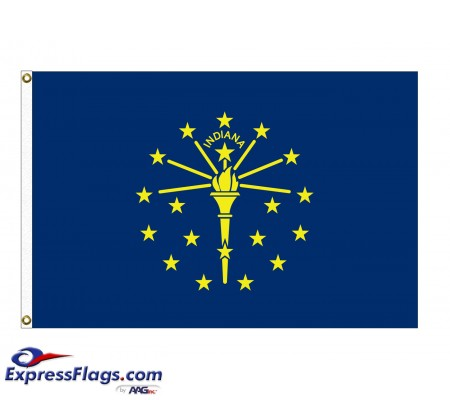 Poly-Max Indiana State FlagsIN-PM