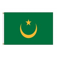Mauritania Nylon Flags (UN Member)