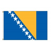 Bosnia-Herzegovina Nylon Flags - (UN Member)