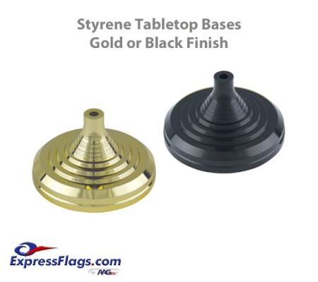 Styrene Plastic Tabletop Flag BasesStyle 2