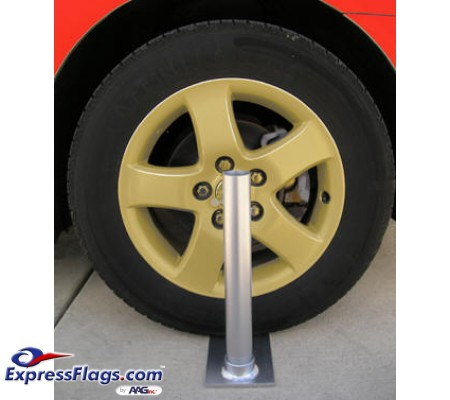 Collapsible Flagpole Wheel Stand323515