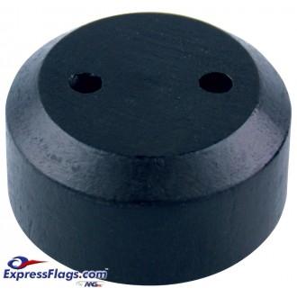 Black Wood Tabletop Flag BasesStyle 5