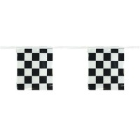 Checkered Pennant Strings - 12in x 9in  Rectangle Pennant