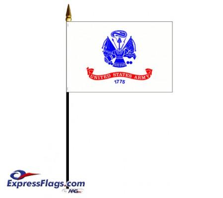 Army Stick Mounted FlagsUSM-AR-MTD