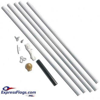 Titan Steel Residential Flagpole SetsWT