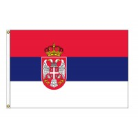 Serbia Nylon Flags (UN Member)