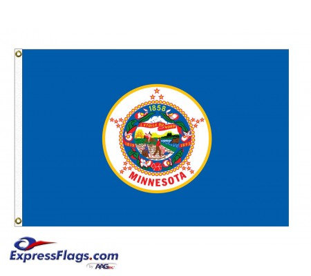 Poly-Max Minnesota State FlagsMN-PM
