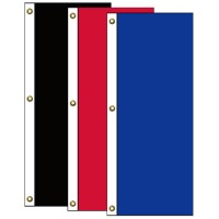 Tall Vertical Solid Color Nylon Flags