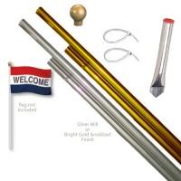 Aluminum Display Pole Sets