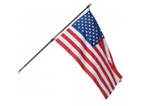 Regal Wall Mount U.S. Flag & Flagpole Sets
