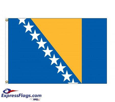 Bosnia-Herzegovina Nylon Flags - (UN Member)BIH-NYL