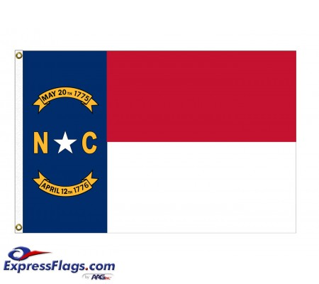 Nylon North Carolina State FlagsNC-NYL