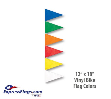 Replacement Flag - Bicycle Safety FlagsBSF-F
