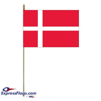 Denmark Mounted Flags