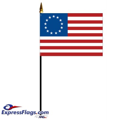 Mounted Betsy Ross Flags060691