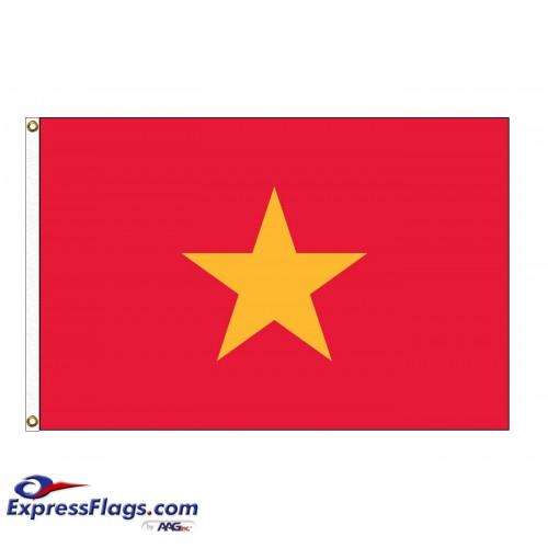 Vietnam Nylon Flags (UN Member)VNM-NYL