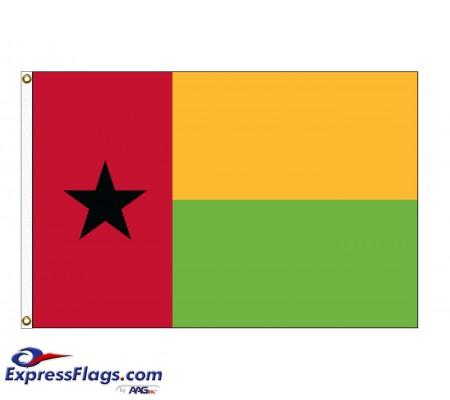 Guinea-Bissau Nylon Flags (UN Member)GNB-NYL