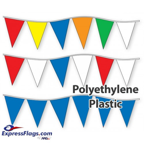 6in x 18in Poly Pennant StringsRP-P-6
