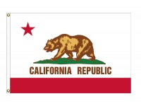 Nylon California State Flags