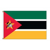 Mozambique Nylon Flags (UN Member)