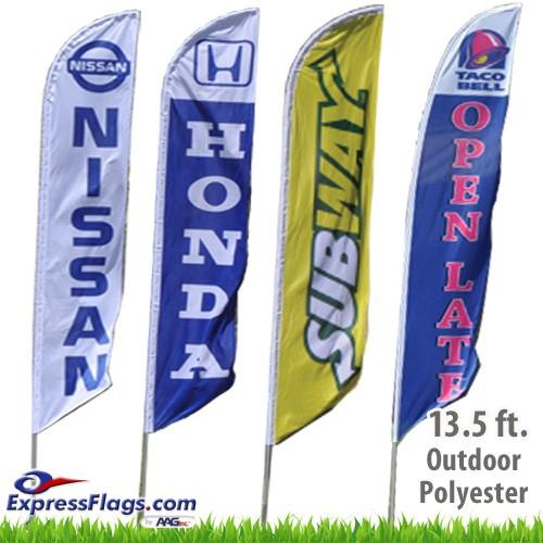 Custom Feather Flags - 13.5 Ft.RF-FTHR-CL