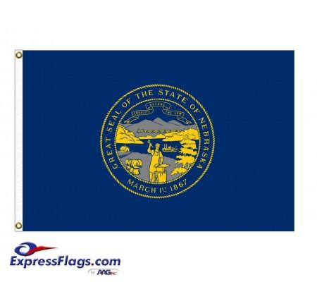 Nylon Nebraska State FlagsNE-NYL