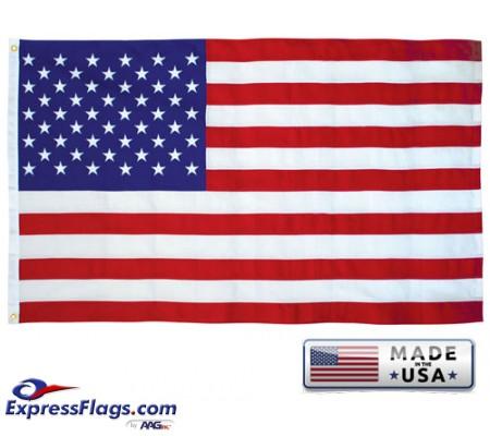 SUN-BRITE NYLON American Flags - PrintedSBUSF
