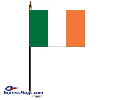 Ireland Mounted Flags