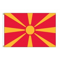 Macedonia Nylon Flags (UN Member)