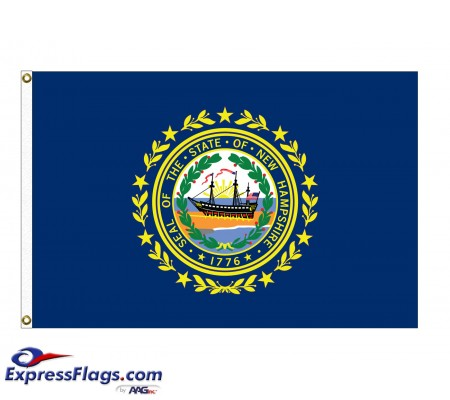 Nylon New Hampshire State FlagsNH-NYL