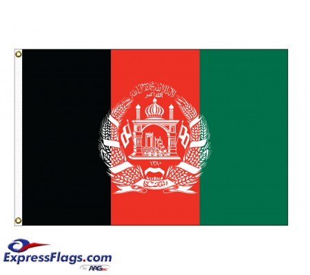 Afghanistan Nylon Flags - (UN Member)AFG-NYL