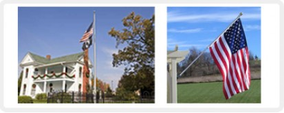 Residential / Light Commercial Flagpoles - Outdoor