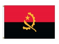 Angola Nylon Flags (UN Member)