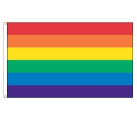 Rainbow Nylon Flags