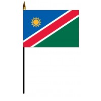 Namibia Mounted Flags - 4in x 6in