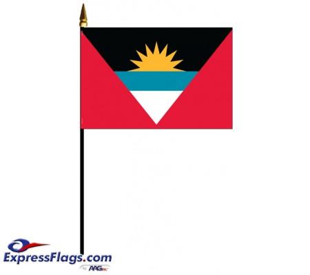 Antigua & Barbuda Mounted Flags030162