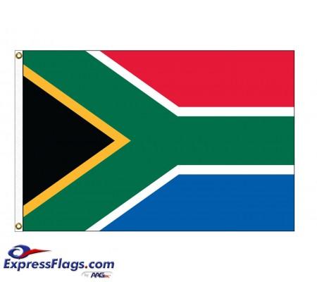 South Africa Nylon Flags (UN Member)ZAF-NYL