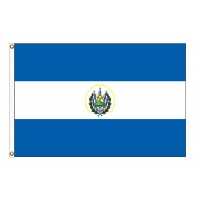 El Salvador Nylon Flags - (UN, OAS Member)
