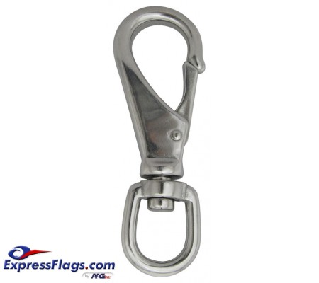 Stainless Steel Swivel Snaps - Large Eye Opening350257
