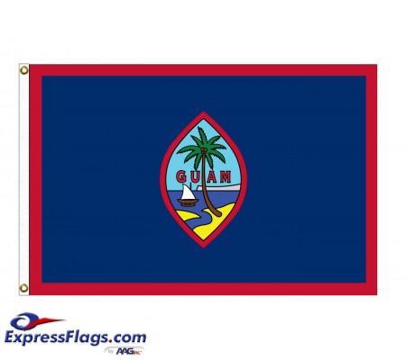 Nylon Guam FlagsGU-NYL