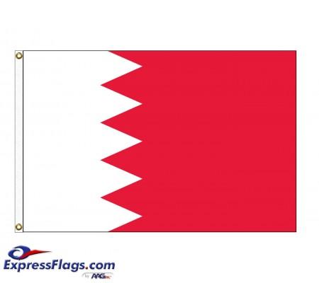 Bahrain Nylon Flags - (UN Member)BHR-NYL