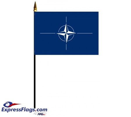 NATO Mounted Flags - 4in x 6in032884