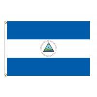 Nicaragua Nylon Flags (UN Member)