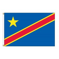 Congo Democratic Republic Nylon Flags  (UN Member)