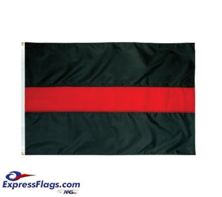 Thin Red Line Flag - 3  x 5  Endura-Nylon070477