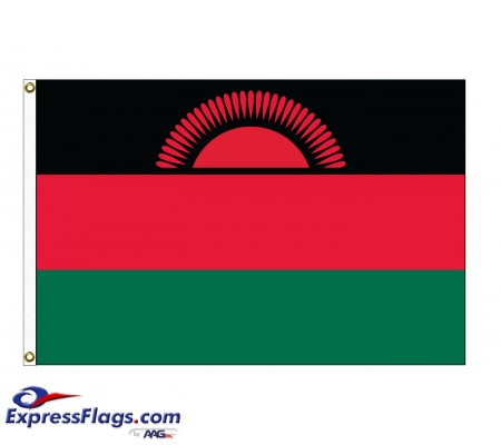 Malawi Nylon Flags (UN Member)MWI-NYL