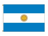 Argentina with Seal Nylon Flags (UN, OAS Member)