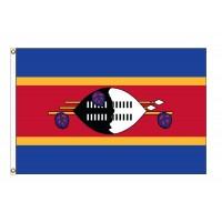 Swaziland Nylon Flags (UN Member)