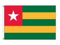 Togo Nylon Flags (UN Member)