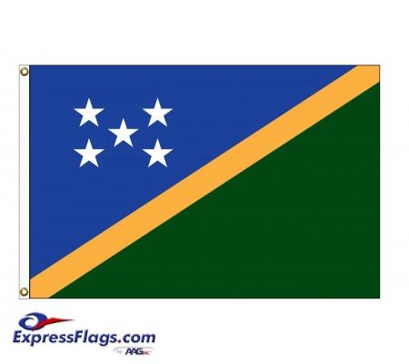 Solomon Islands Nylon Flags (UN Member)SLB-NYL
